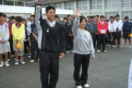 筑紫高校ソフトテニス部「2009年第4回OB会」